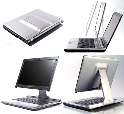 Dialogue Flybook VM with adjustable display