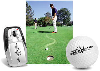 Remote Controlled Golf Ball