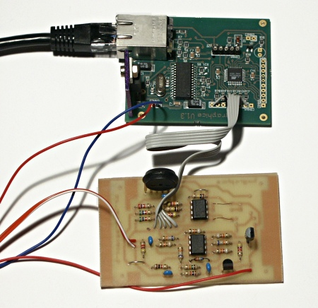 DIY HACK - AVR Ethernet Weather Station