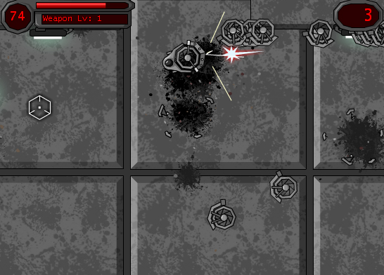 Hover Bot Arena Flash Game