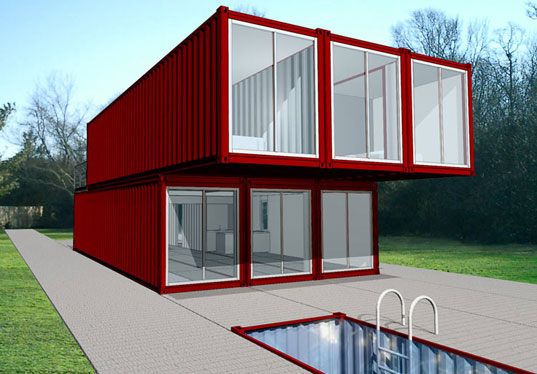 Anyone have seen a shipping container house office priuschat - Container home kit ...