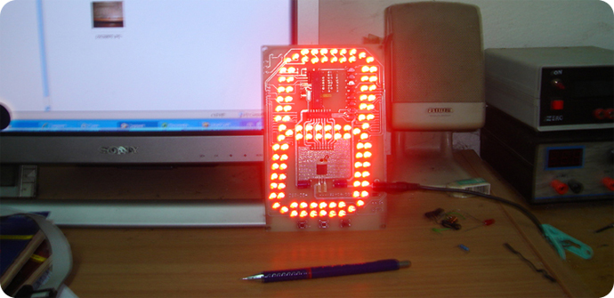 DIY HACK - HOWTO make a GIANT, BRIGHT LED!