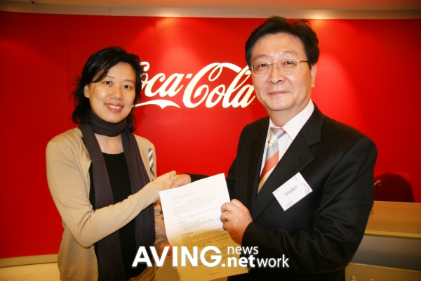 The world-famous Coca-Cola and Korean online games entered into a partnership.