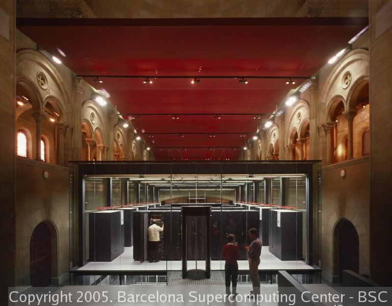 Pictures of a Really Really Really big Supercomputer!