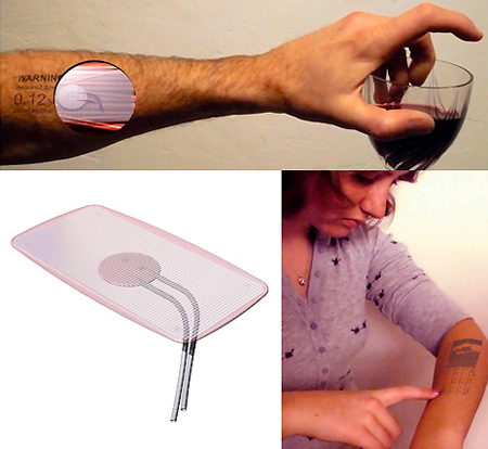 Embed your cellphone on your arm!