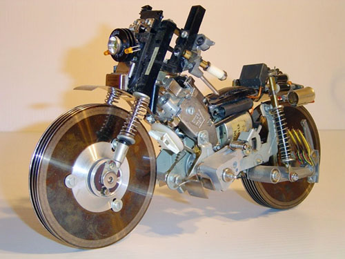 Recycled partbs bike
