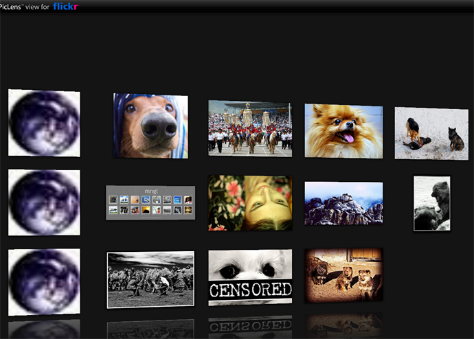 Use Cooliris\'s Firefox Plugin to browse images, videos like an iPhone!