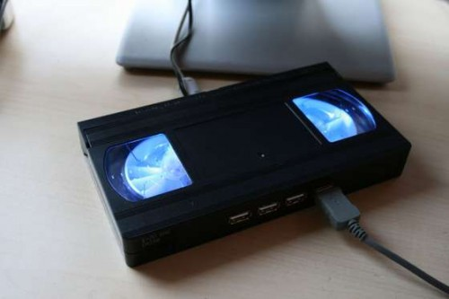 DIY HACK - How to make your own Video Cassette USB Hub!2