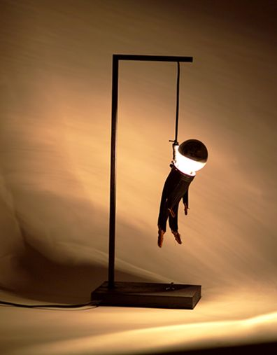The Colago Lamp or is it Hangman Lamp?
