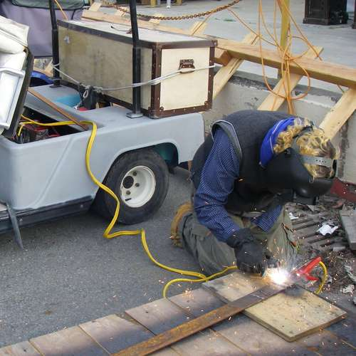 Diy Hack How To Make A Dc Welder With A Golf Cart