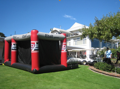 E-Ball bring Golf Simulator to your Home!
