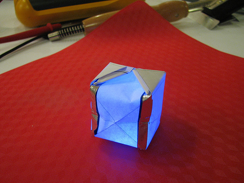 DIY HACK - How to Make an LED Orgami!