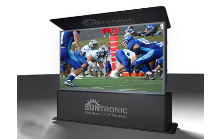 Suntronic 102 inch HDTV for your backyard!