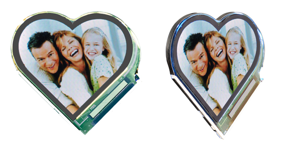 Heart LCD Picture Frames!