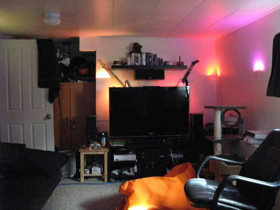 DIY - How to Make Color-Changing Ambient LED Lights for your room!