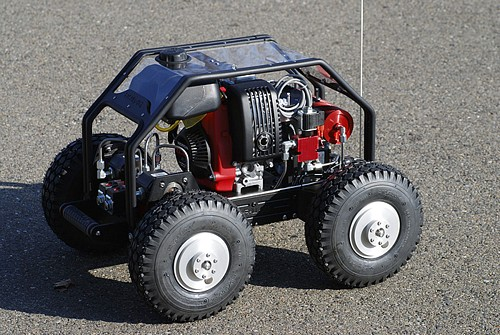 Propeller QuadRover Robot can Tow a Toyota Pickup Truck!