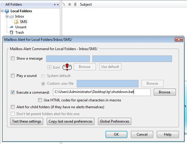 How to remotely shut down your PC via SMS!