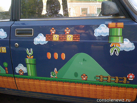 Super Mario Brothers Car!