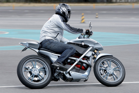 Hydrogen Fuel Cell Motorcycle