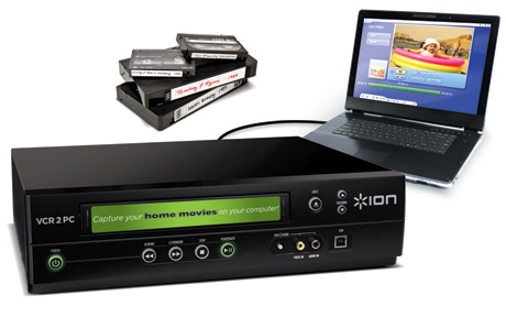 VCR-to-PC makes it easy for you to convert your VCRs to Media Files!