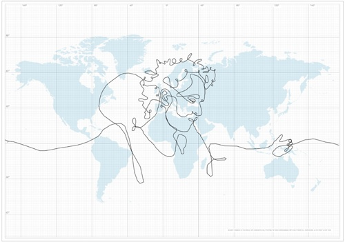 World\'s Largest Drawing with a GPS Briefcase!