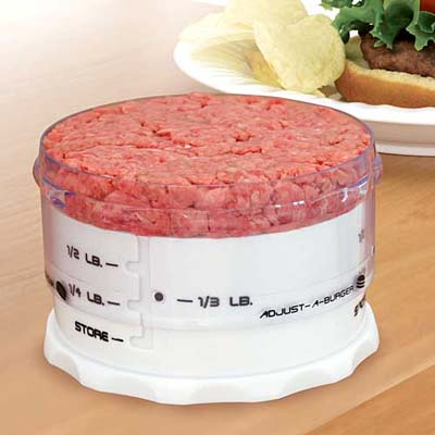 How to Make Perfect Hamburgers using Adjust A Burger!