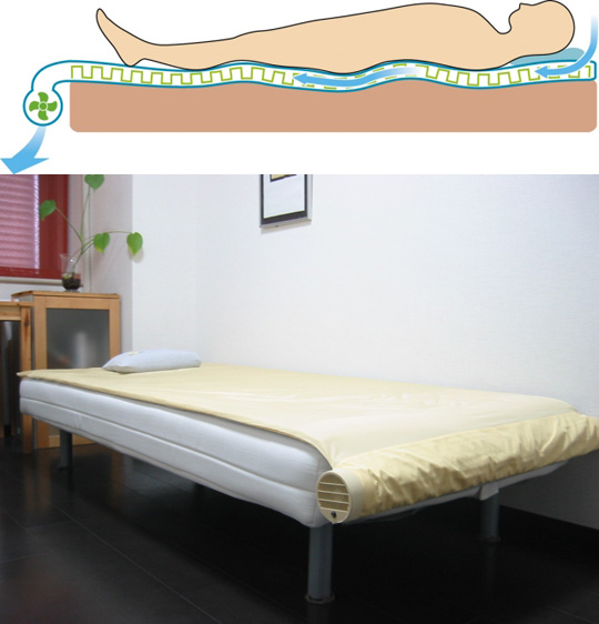 Kuchofuku - Air-Conditioned Bed!