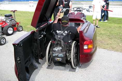 Wheel Chair Accessible Motorcycle/Trike!