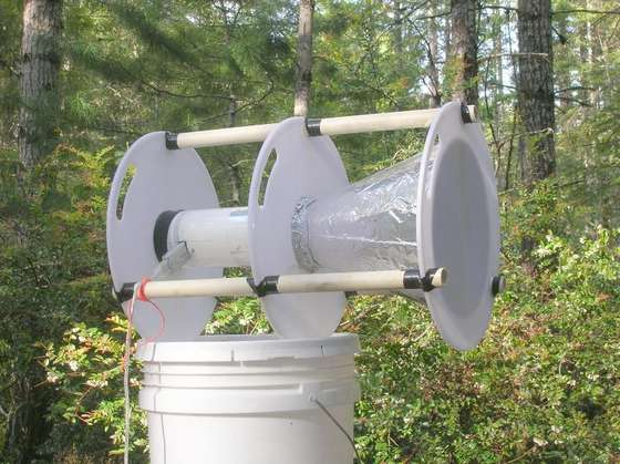 DIY - How to Make a Conetenna WiFi Antenna that goes 18Mb at 300 yards!