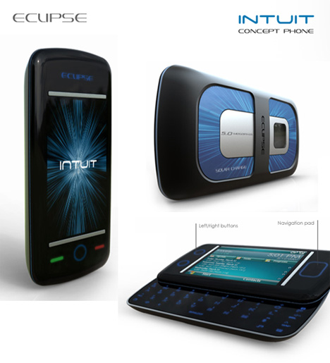 Concept Solar Powered CellPhone!