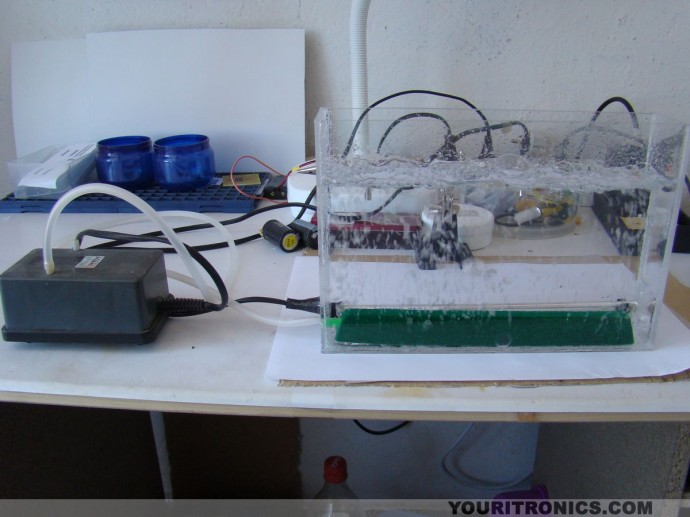 DIY - How to Make an Etching Tank With Aquarium Pump And Heater!