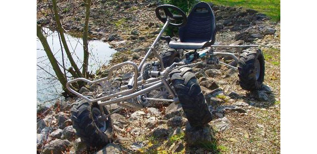 Human Powered Off Road 4x4 Trailcart