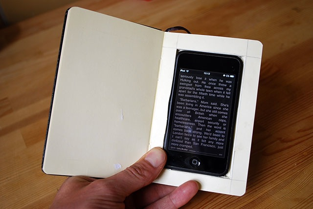 iPhone Hack - How To Turn an iPhone into a Moleskine Book!