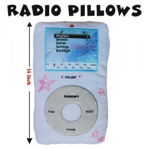 iPod Pillow!