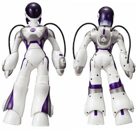 """Female Humanoid Robot from Sega that can \""""kiss\""""!"""