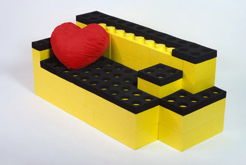 DIY - Build your own Lego Furniture!