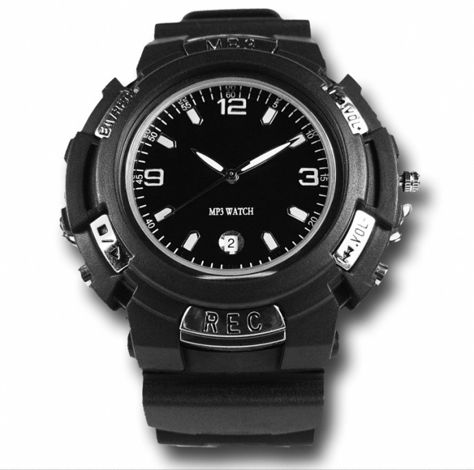 2GB MP3 Watch with FM Transmitter!