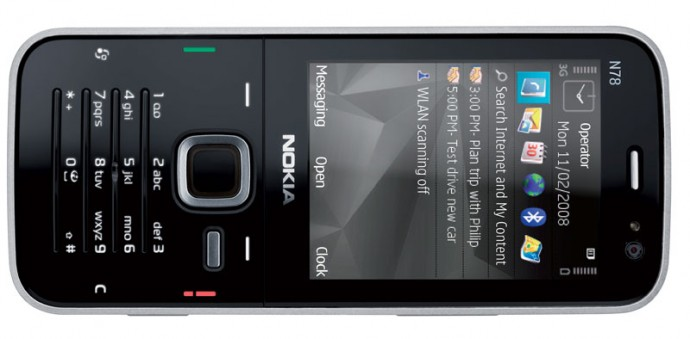 Nokia N78 Released in the US for $560!