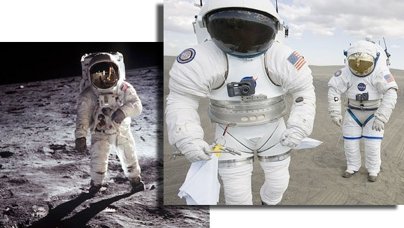 NASA\'s new Spacesuits look more like a Body-Builder!