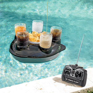 Radio Controlled Snack Floater!