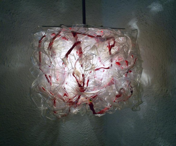 Lights Made from Recycled Plastic Bottles!