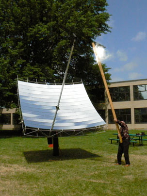 MIT Students Develop Solar Dish Capable of 1000X Sun Power!