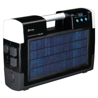 Solar Pack runs 12VDC or 120AC anywhere!