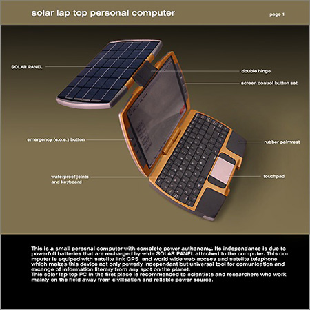 Solar Powered Laptop!