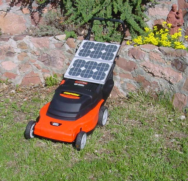Solar Powered Lawnmower for $695!