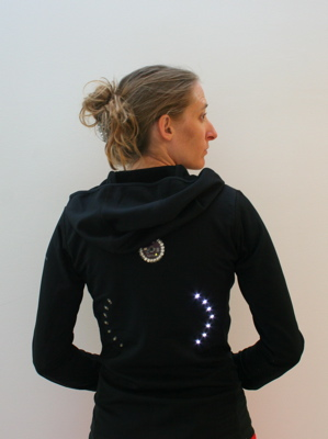 Great DIY Invention - Bike Turn Signal Jacket!