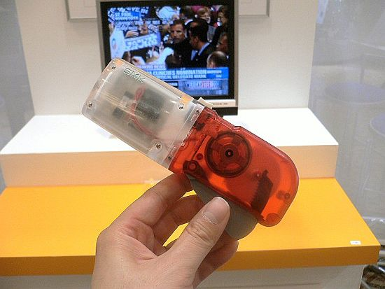 Crank TV Remote with No Battery!