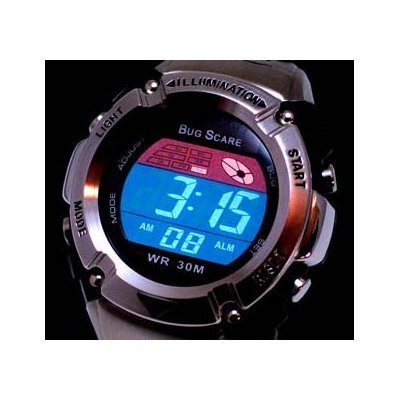 More Mosquito Repelling Digital Watches!