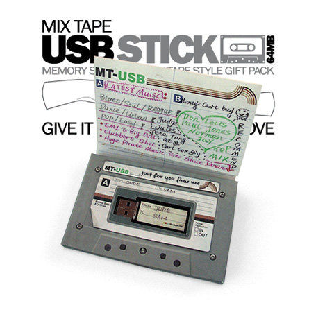 Go Old-School with USB Mix Tape!