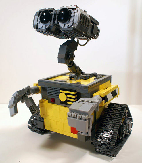 DIY Lego-Built Wall-E!